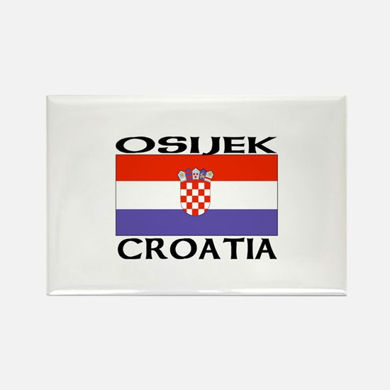 Osijek, Croatia Rectangle Magnet