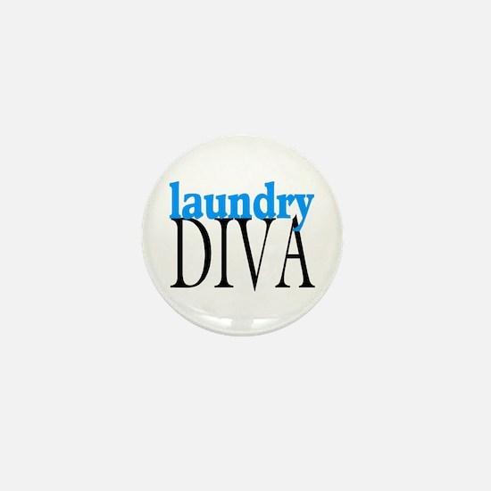 Laundry Diva Mini Button
