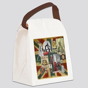 Anglophiles Delight Canvas Lunch Bag