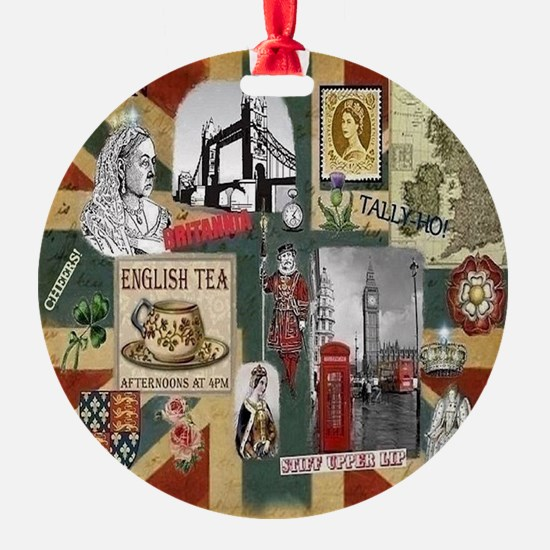 Anglophiles Delight Ornament