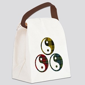 A Peace of Tartan Canvas Lunch Bag