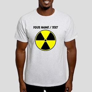 Custom Yellow Radioactive Symbol T-Shirt