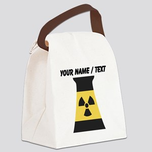 Custom Nuclear Smokestack Canvas Lunch Bag