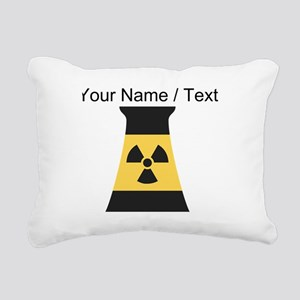 Custom Nuclear Smokestack Rectangular Canvas Pillo