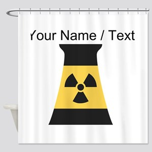 Custom Nuclear Smokestack Shower Curtain
