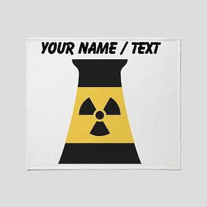 Custom Nuclear Smokestack Throw Blanket
