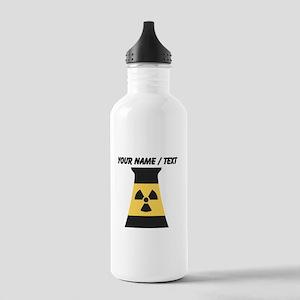 Custom Nuclear Smokestack Sports Water Bottle