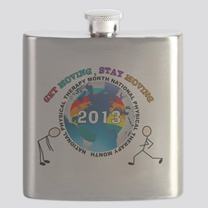 physical therapy 2013 SHIRT Flask