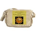 rugby Messenger Bag