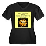rugby Plus Size T-Shirt