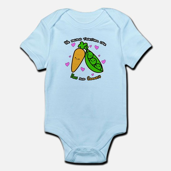 Peas and Carrots Body Suit