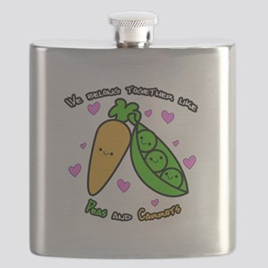 Peas and Carrots Flask
