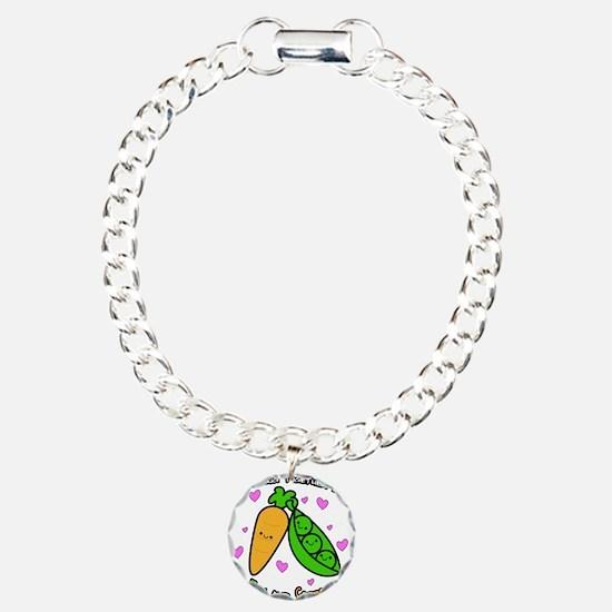 Peas and Carrots Bracelet