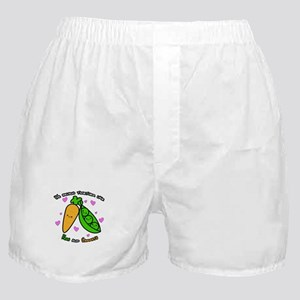 Peas and Carrots Boxer Shorts