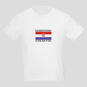Dubrovnik, Croatia Kids Light T-Shirt