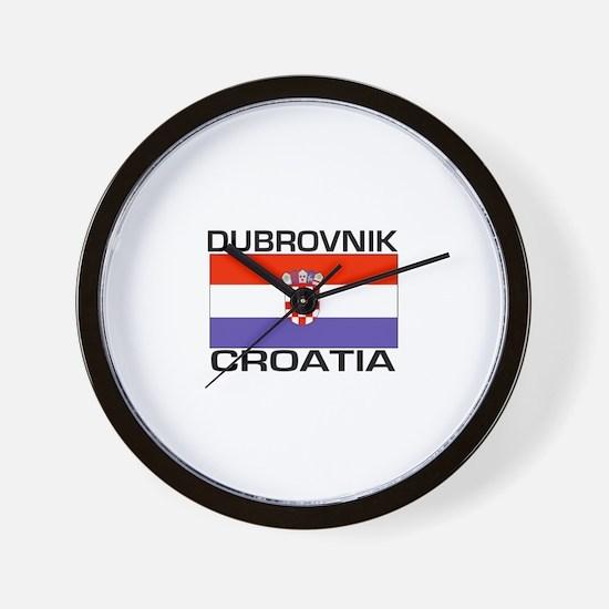 Dubrovnik, Croatia Wall Clock