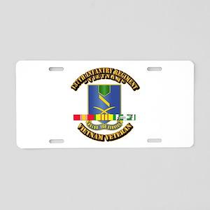 137th Infantry Regiment w SVC Ribbon Aluminum Lice