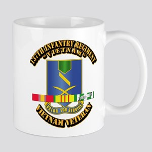 137th Infantry Regiment w SVC Ribbon Mug