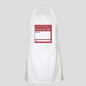 Emergency Animal Rescue Apron