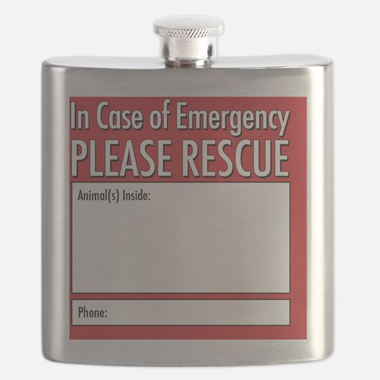 Emergency Animal Rescue Flask