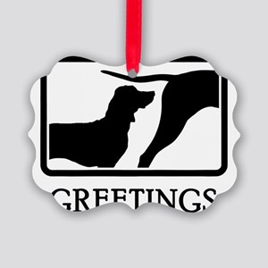 Bavarian-Mountain-Hound-07A Picture Ornament