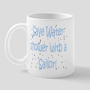 save water sailor Mug