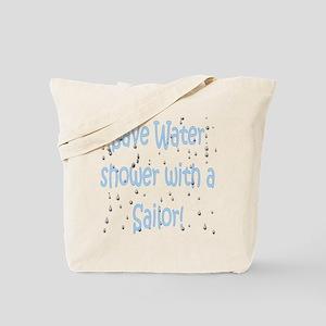 save water sailor Tote Bag