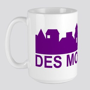 Des Moines Iowa Large Mug