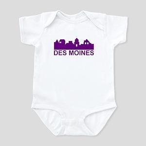 Des Moines Iowa Infant Bodysuit