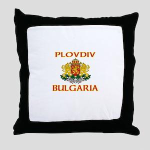Plovdiv, Bulgaria Throw Pillow