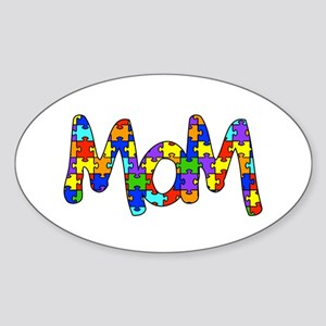 Mom Autism Awarenes Sticker