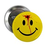 Yellow Smiley Face 2.25