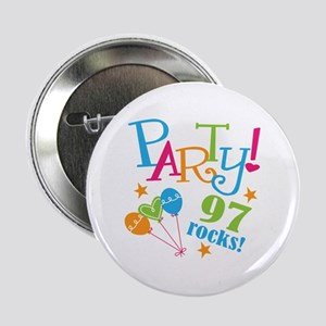 "97th Birthday Party 2.25"" Button (10 pack)"