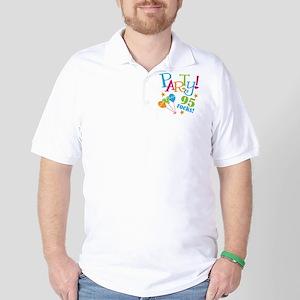 95th Birthday Party Golf Shirt