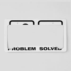Bichon-Frise-11A License Plate Holder