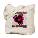 Valentine My Heart is Fragile Tote Bag