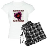 Valentine My Heart is Fragile Women's Light Pajama