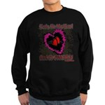 Valentine My Heart is Fragile Sweatshirt (dark)