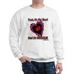 Valentine My Heart is Fragile Sweatshirt