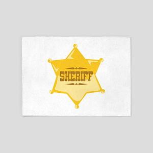 Sheriff 5'x7'Area Rug