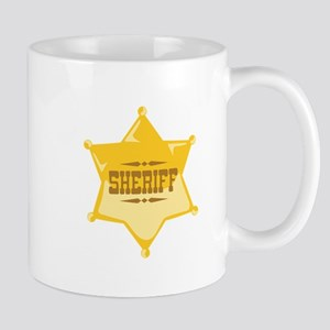 Sheriff Mugs