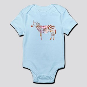 The Colorful Zebra Body Suit