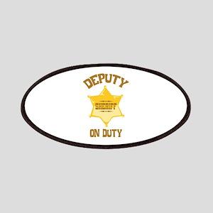 Deputy Sheriff On Duty Patches