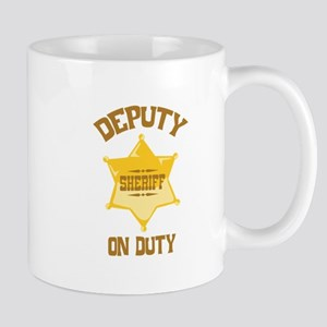 Deputy Sheriff On Duty Mugs