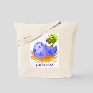 Just Hatched Dinosaur Tote Bag