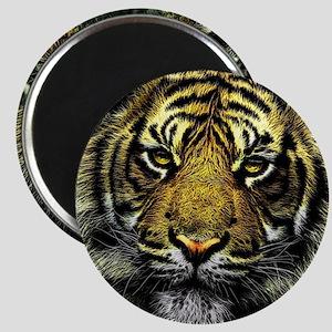 Art of Tiger Wild Animal Magnet