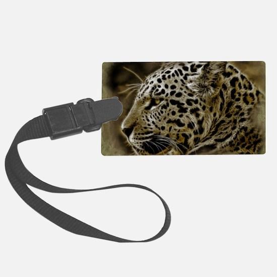 Jaguar Wild Animal Luggage Tag