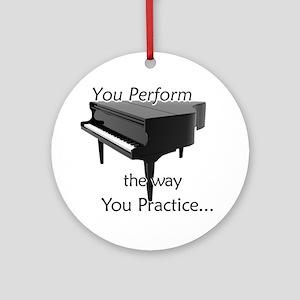 Piano / Music Ornament
