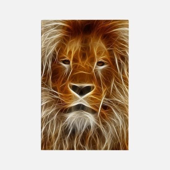 Art of Lion Rectangle Magnet