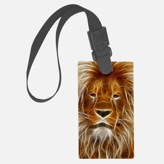 Art of Lion Luggage Tag